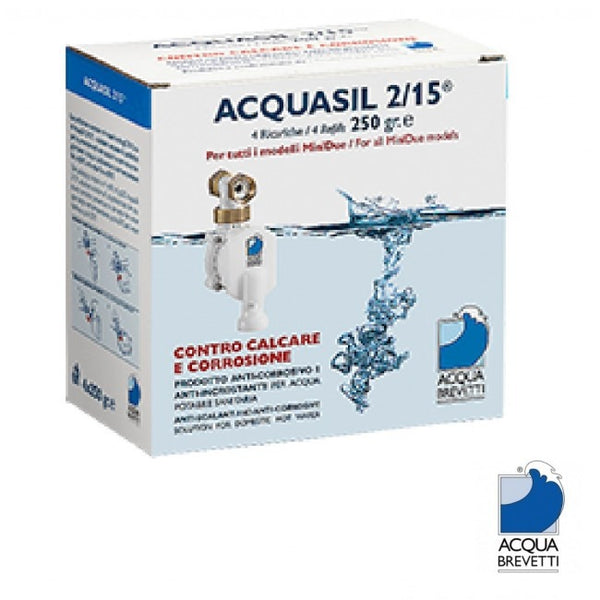 Acqua Brevetti MiniDUE Acquasil Refill Bag 250gr (pack of 4