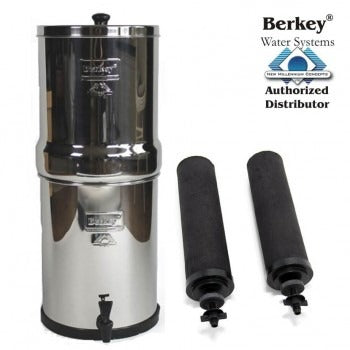 Big Berkey (8.5 L) Portable Gravity Water Filter System