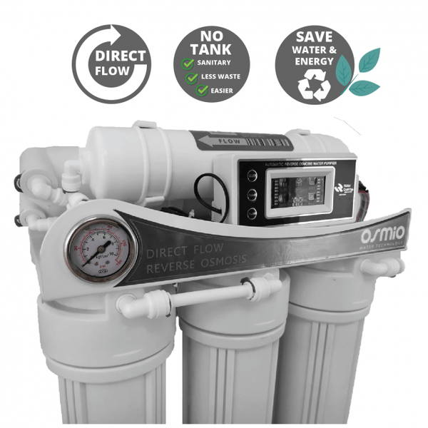 Osmio HT+ Home & Office Direct Flow Reverse Osmosis System