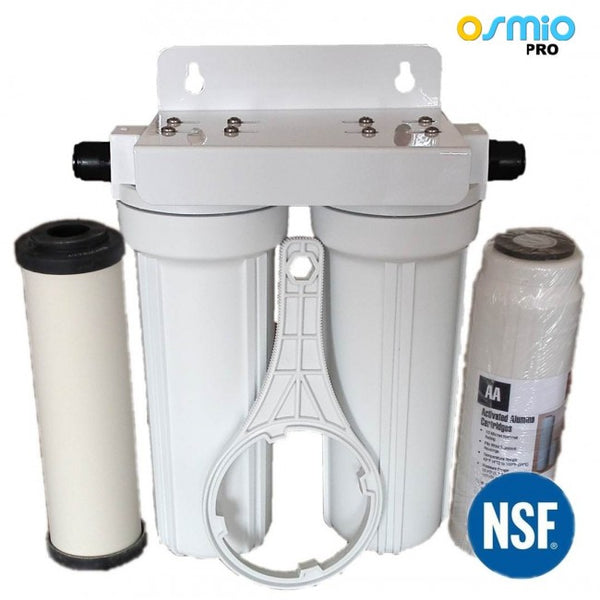 Osmio EZFITPRO-300 Ultracarb and Fluoride Water Filter System