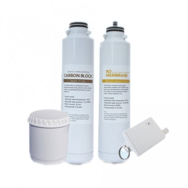 Osmio Zero IP-II Portable Reverse Osmosis Replacement Filters Pack