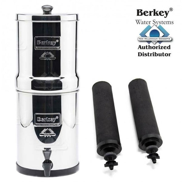 Travel Berkey (5.7 L) Portable Gravity Water Filter System