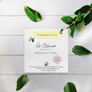 TRANQUILITY TEABAGS - DrClareApothecary