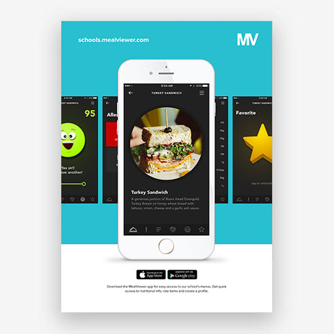 MealViewer App Poster