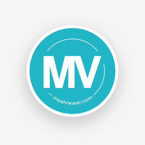 MealViewer Logo Sticker - 10 Pack