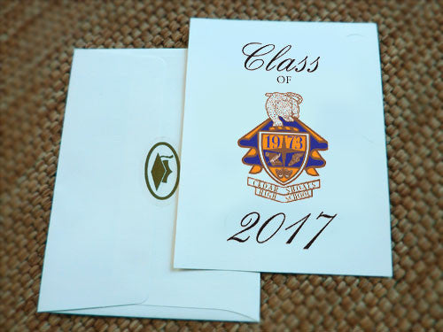 High School Graduation Invitation - Cedar Shoals