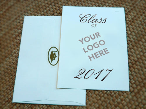 High School Graduation Invitation - Custom Crest