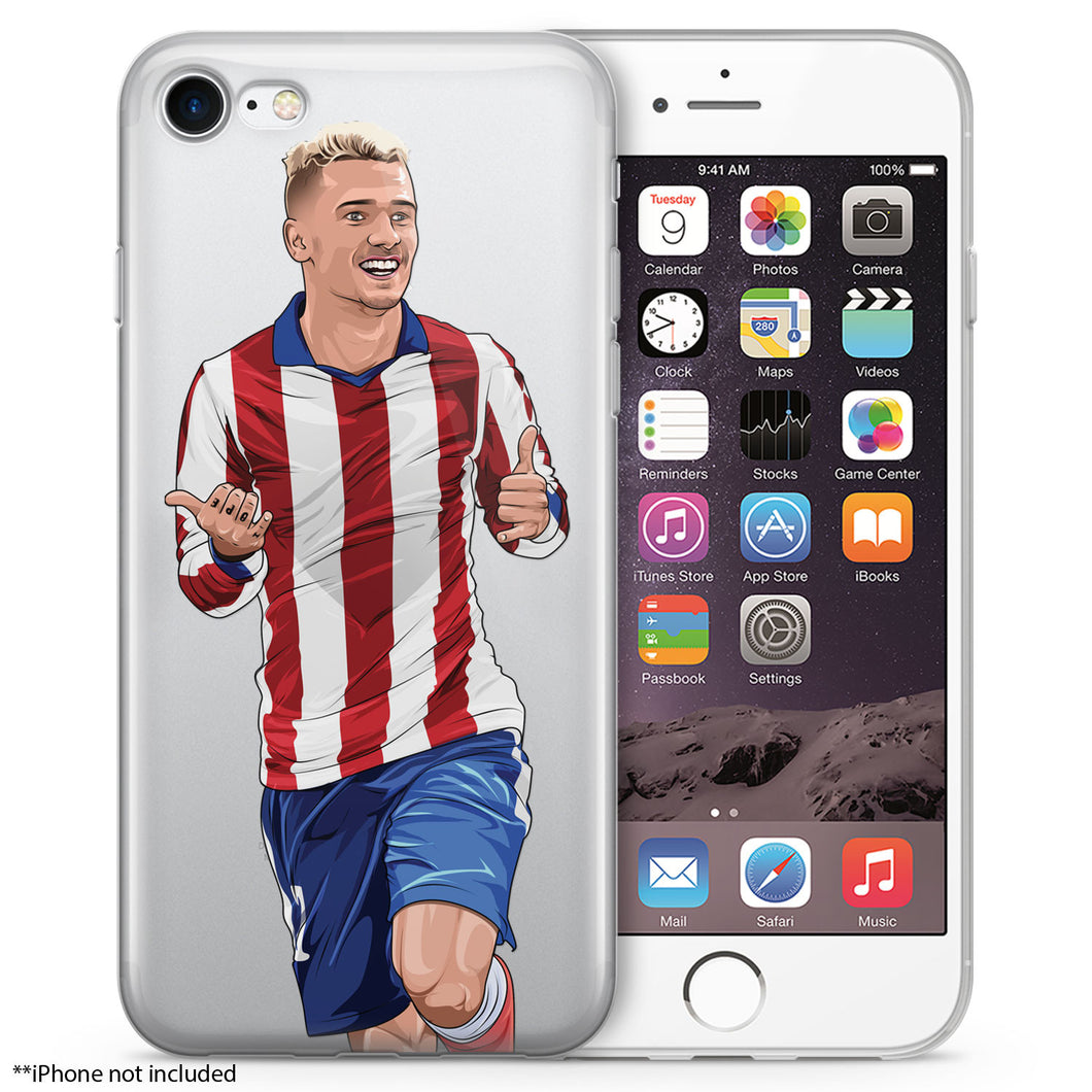 AG1 Soccer iPhone Case