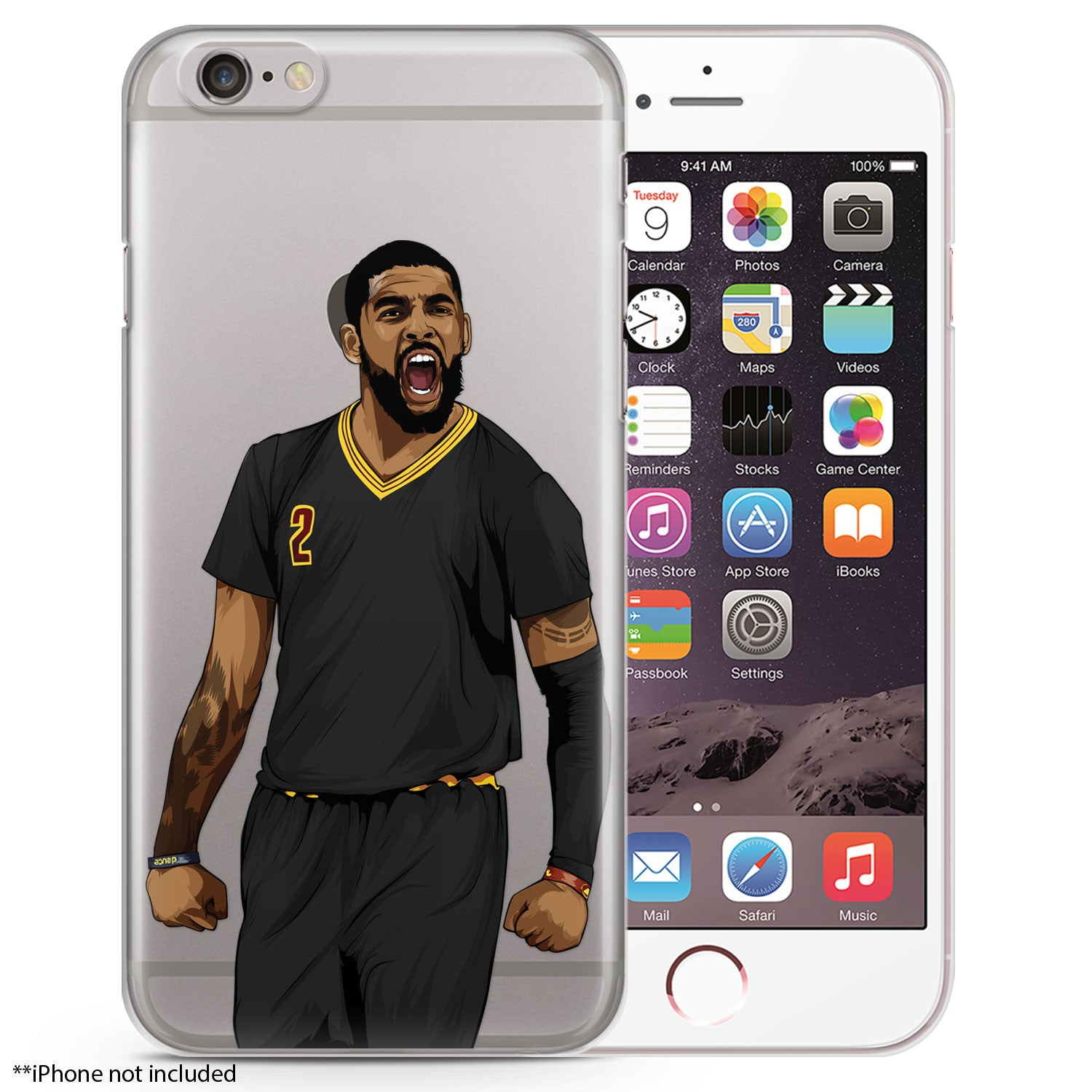 the latest 9cf6a 36d5e Ankletaker Basketball iPhone Case