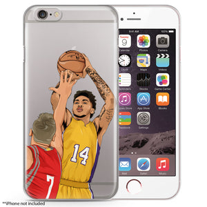 BI Basketball iPhone Case