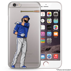 Bat Off Baseball iPhone Case