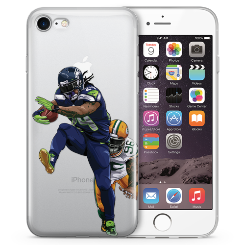 Beast Mode Football iPhone Cases
