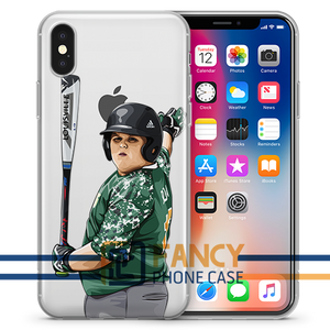 Big Al Dinger Baseball iPhone Case