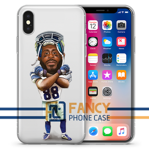 Big X Football iPhone Case
