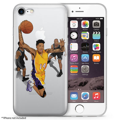 Bingram Basketball iPhone Case