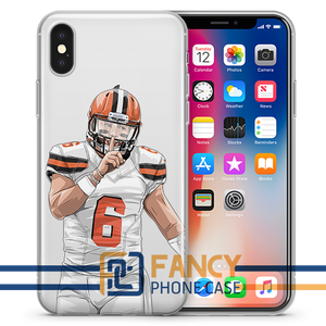 Blondie Football iPhone Case
