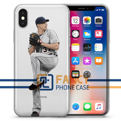 Blue Eye Baseball iPhone Case