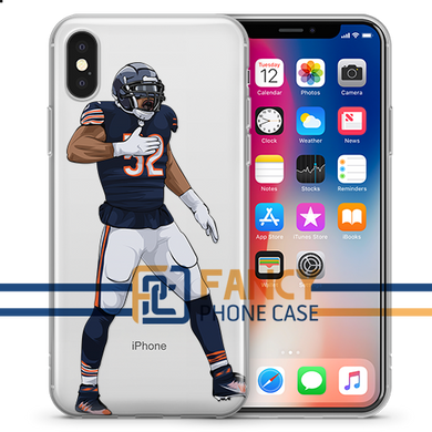 Bombshell Man Football iPhone Case