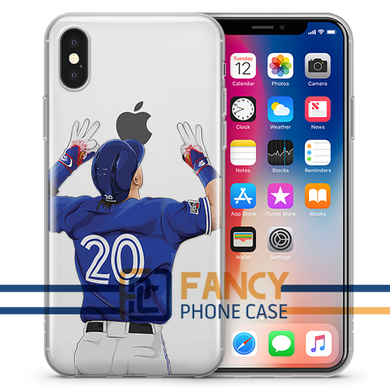 Bringer of Rain Baseball iPhone Case