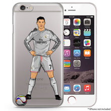 CR7 Soccer iPhone Case
