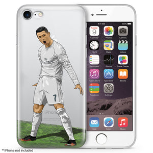 CR Soccer iPhone Case