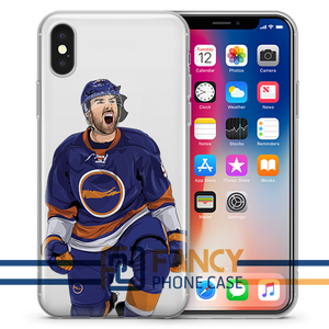 Captain Serious JT Hockey iPhone Case