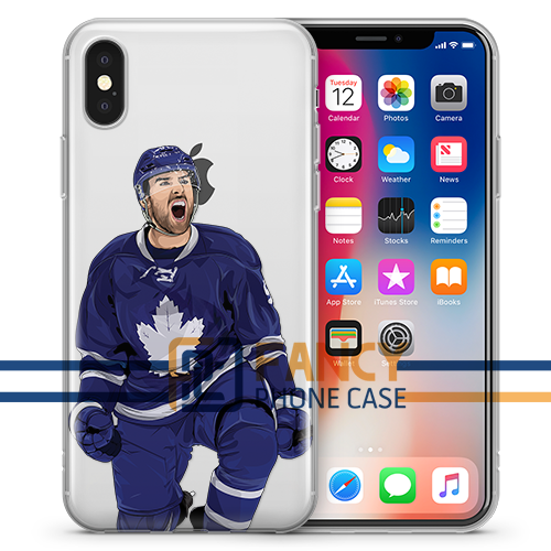 Captain Serious TML Hockey iPhone Case