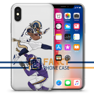 Carl's Jr Football iPhone Case