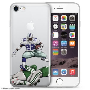 Catch 22 Hurdles Football iPhone Case
