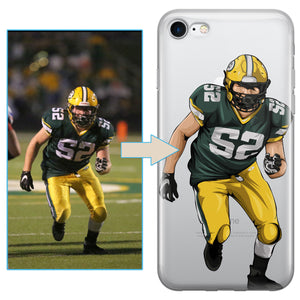 Custom Football iPhone Case