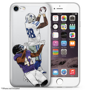 Dez Catch Football iPhone Case