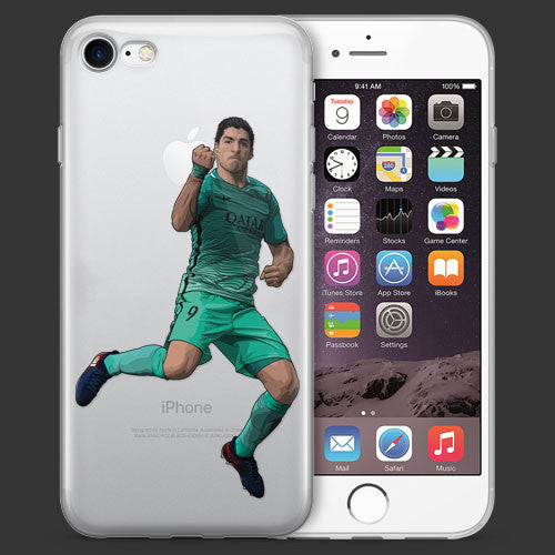 El Pistolero Soccer iPhone Case