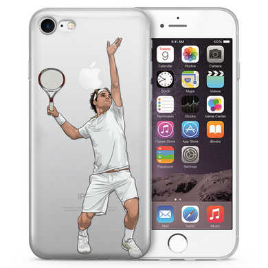 Federer Express Tennis iPhone Case