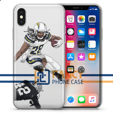 Flash Gordon Football iPhone Case