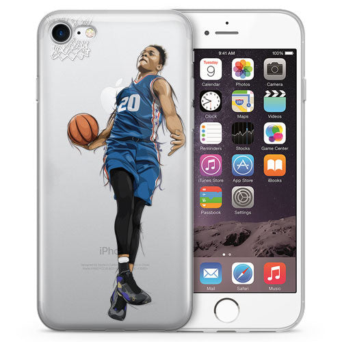 Fultz PHI Basketball iPhone Case