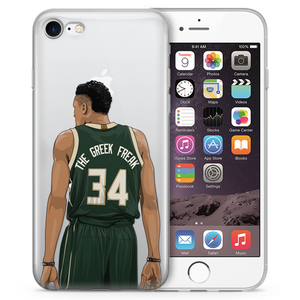 Greek Freak Basketball iPhone Case