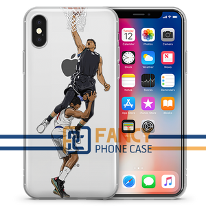Greek Dunk Basketball iPhone Case