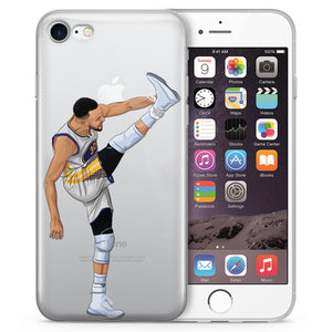 High Kick Basketball iPhone Case