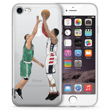 J Wow Basketball iPhone Case