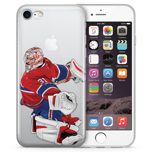 Jesus Price Hockey iPhone Case