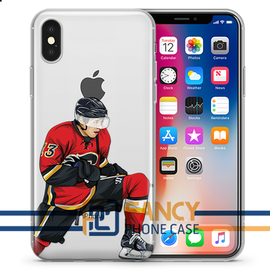 Johnny Hockey iPhone Case