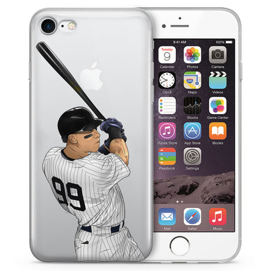 Judgey Baseball iPhone Case