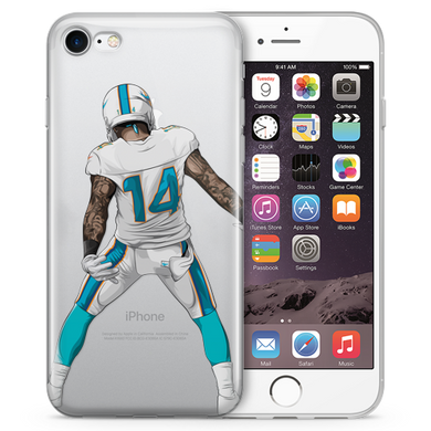 Juice Take That Football iPhone Case