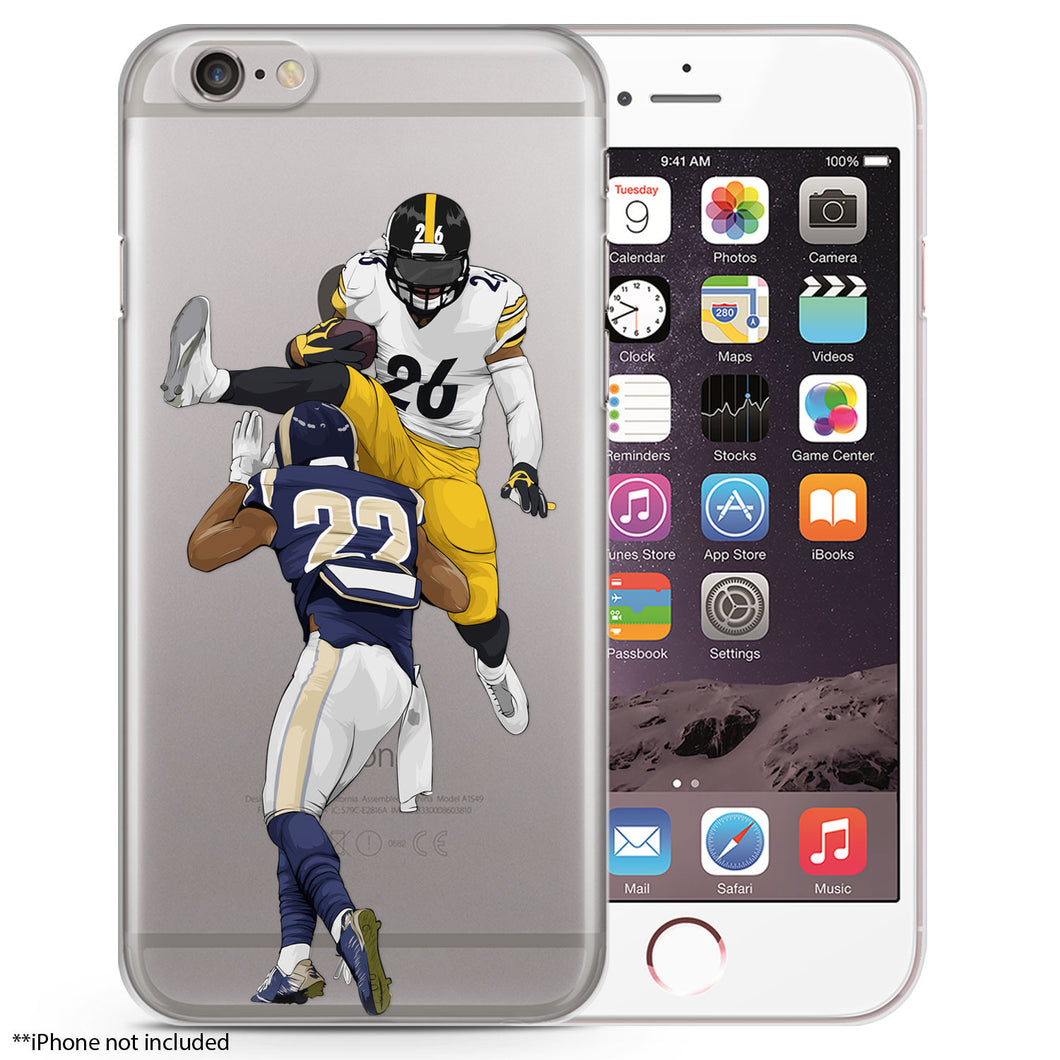Juice Football iPhone Case