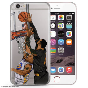 LBJ Basketball iPhone Case