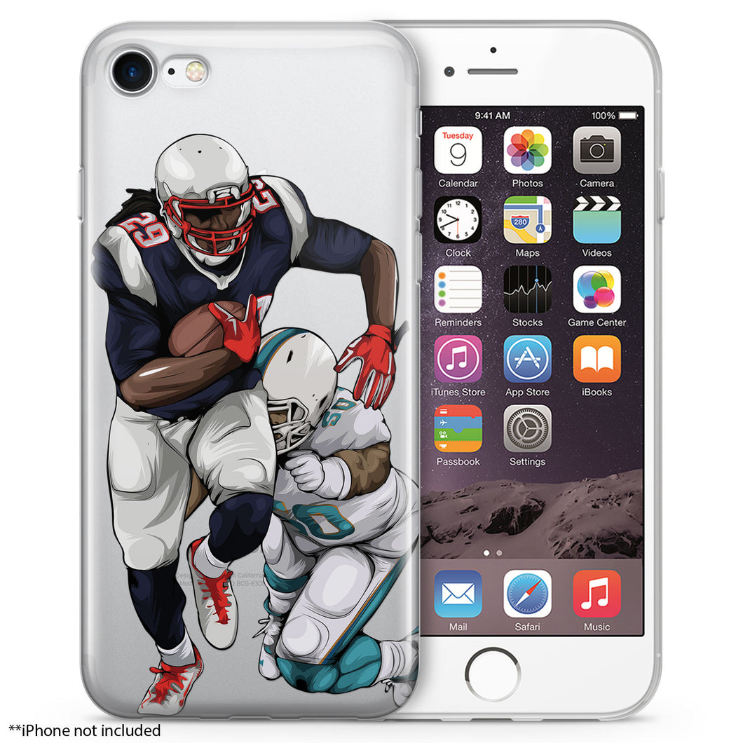 LG Football iPhone Case