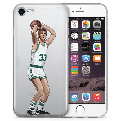 Larry Legend Basketball iPhone Case