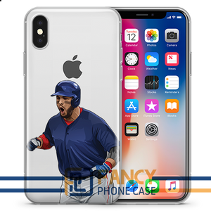 Late Lightning Baseball iPhone Case