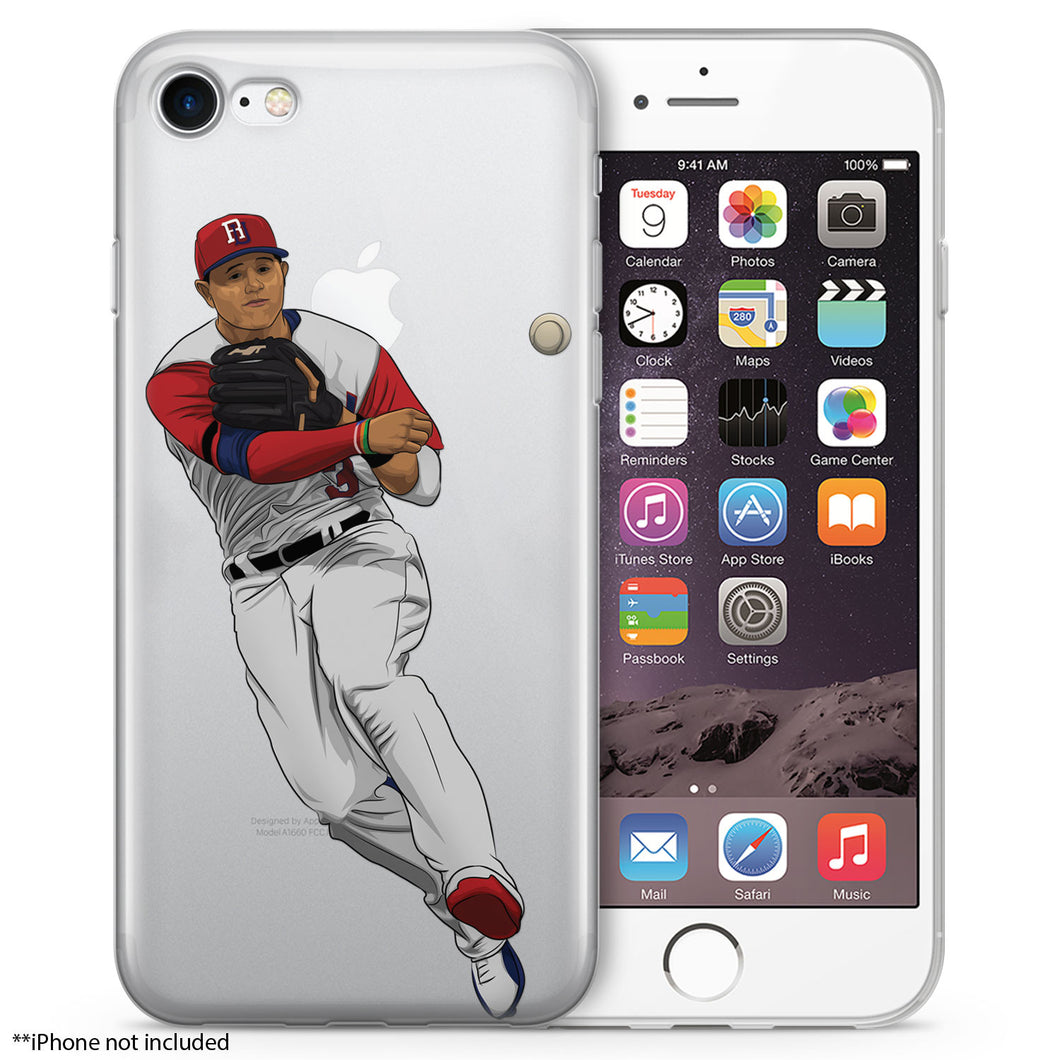M&M Baseball iPhone Case