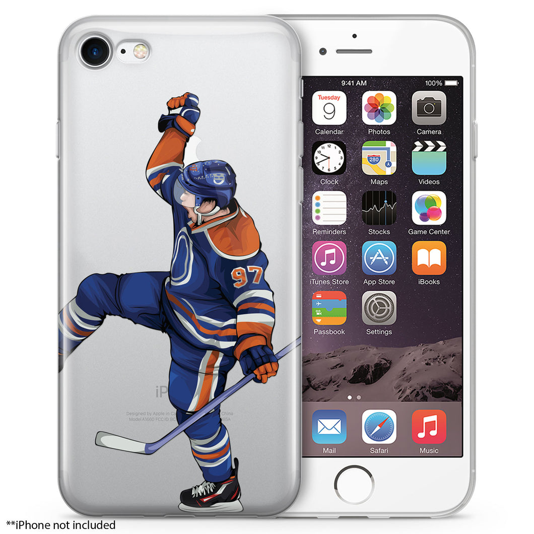 McJesus Hockey iPhone Case